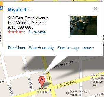 Miyabi 9 Map