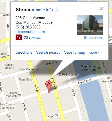 sbrocco map