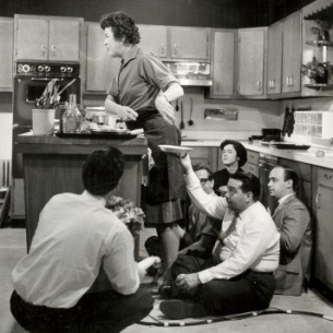 behind the scene julia child