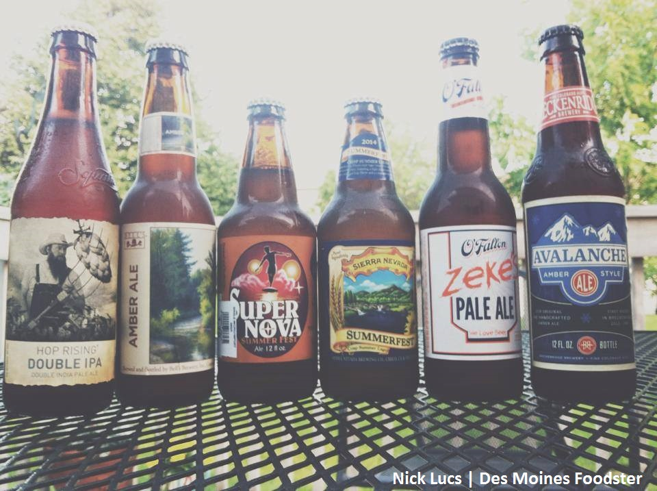 Des Moines Foodster Craft Beer