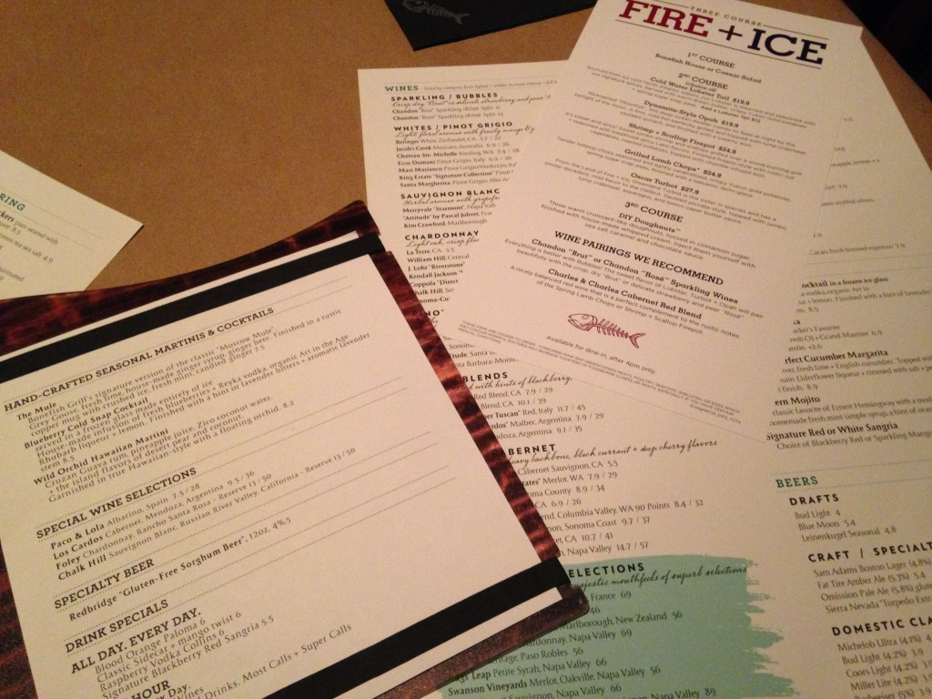 Incredibleis bonefish grill west des moines for Fish bone grill menu