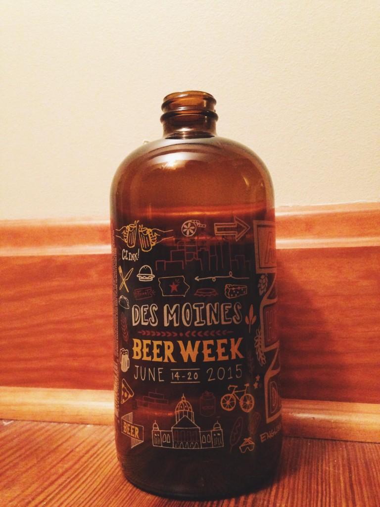des moines beer week growler
