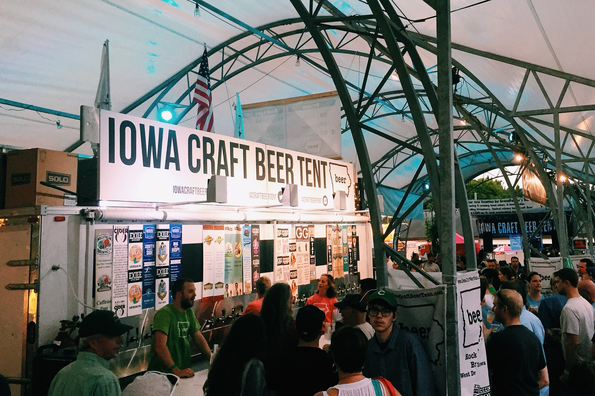 ... behind computer screens running calculations and drawing in AutoCAD and outside of this blog I have no direct connection to the craft beer industry (I ... & Nothing Compares - Pouring Brews at the Iowa Craft Beer Tent - Des ...