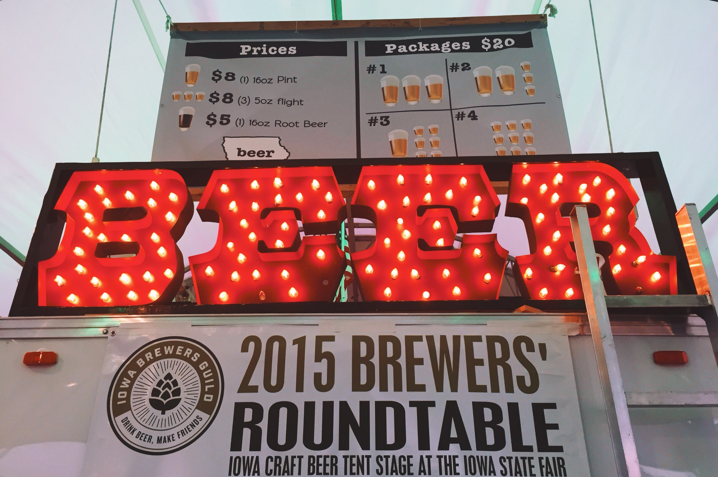Needless to say spending one (7+ hours) shift talking all things Iowa Craft Beer while serving thirsty fair-goers gave me an eye-opening firsthand view of ... & Nothing Compares - Pouring Brews at the Iowa Craft Beer Tent - Des ...